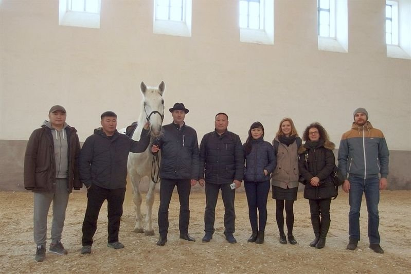 Delegation of Mongolian wildlife conservation experts, 11 January 2018