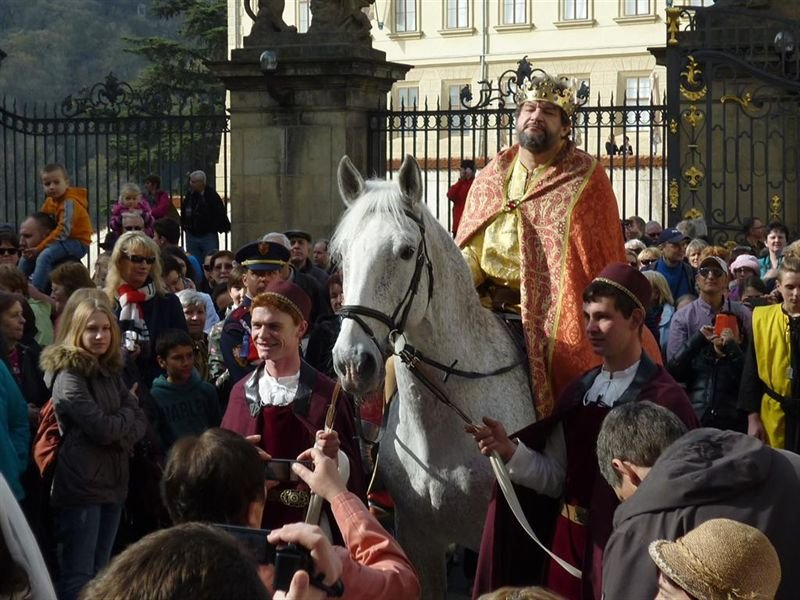 Tourist season opening at the Prague Castle, 3 April
