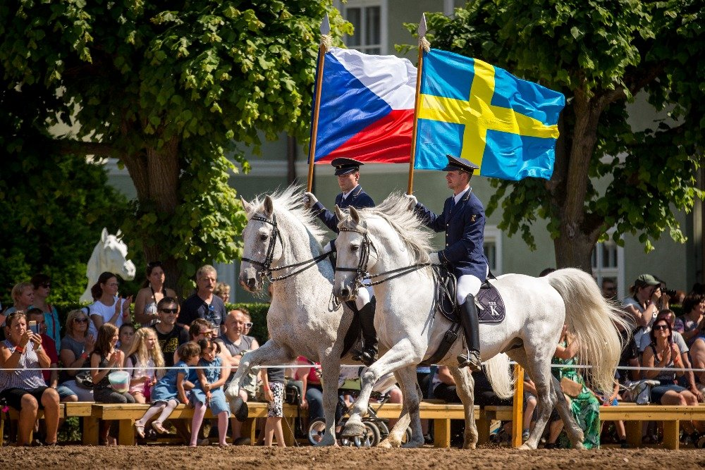 Acknowledgement to the Swedish Mounted Royal Guard, 26 May 2018
