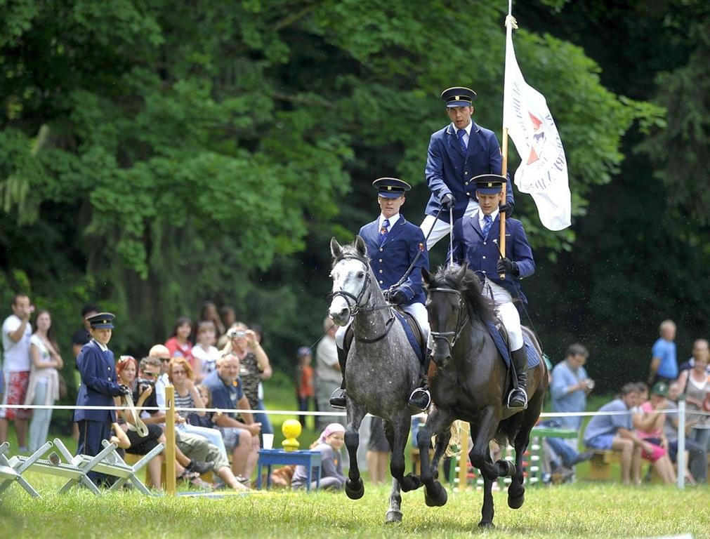 Equestrian Day at the Slatiňany stud – photo gallery I