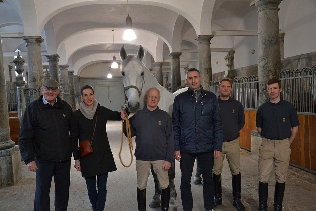Visit of Jiří Machek to the Danish Royal Stables, 25–26 April 2017