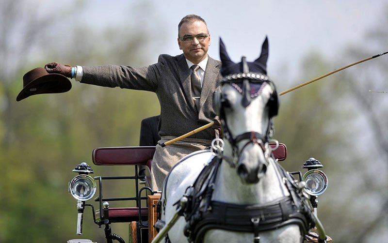 Rudolf Cup 2014, second day – singles dressage