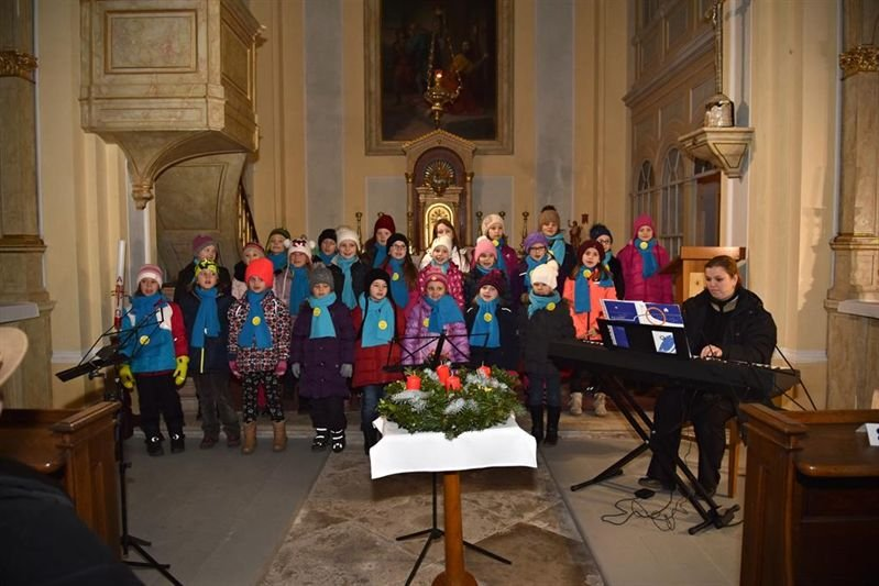 Advent concert in the Church of St. Wenceslas and Leopold, 4 December 2017